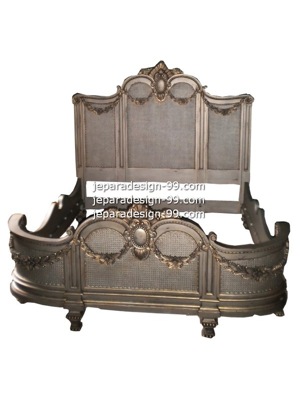 Image Of Antique French Bed BD 002