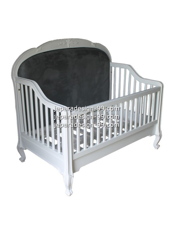 Image Of French Provincial Baby Bed Bdc 005