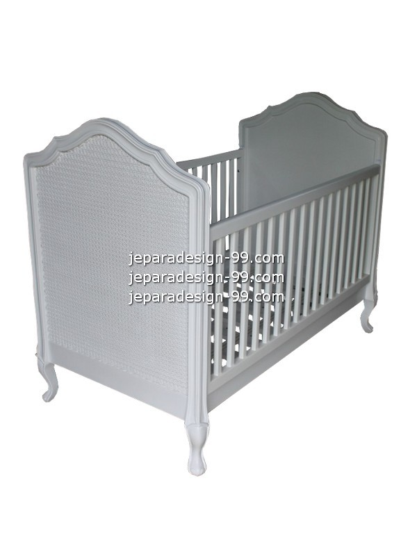 french style baby furniture. Beautiful White Cot BDC-008 French Style Baby Furniture