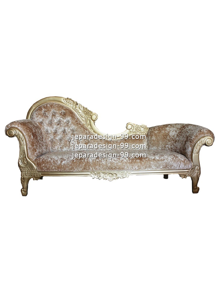 - French Provincial Chaise Lounge CHL-016-GL