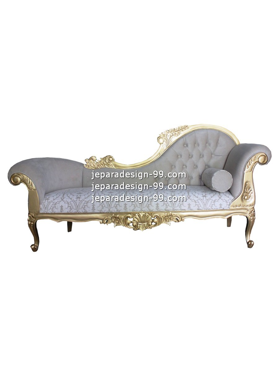 - French Provincial Chaise Lounge CHL-024-LHS