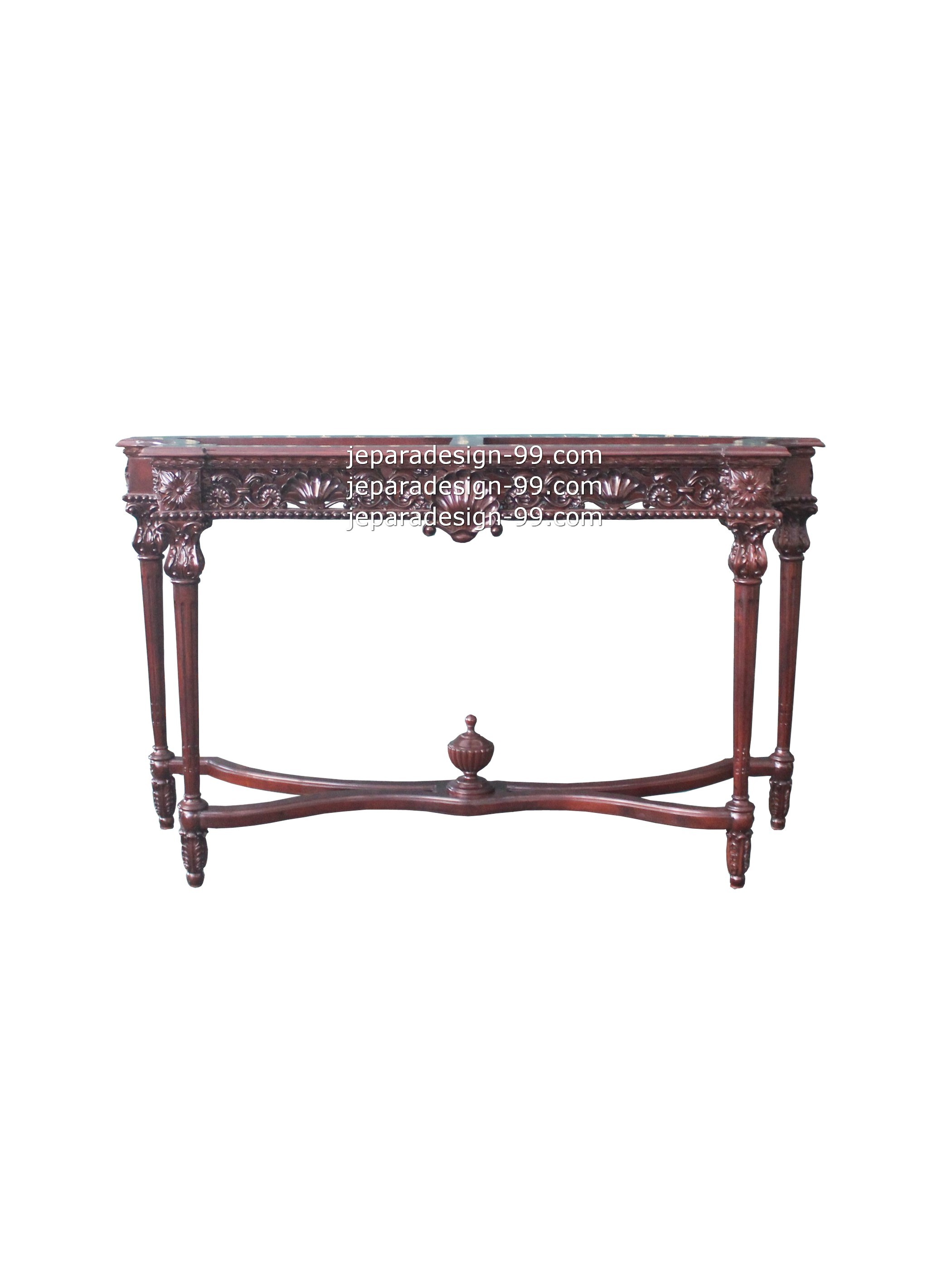 French provincial classic console table by jepara design 99 console table cst 002 wl geotapseo Gallery