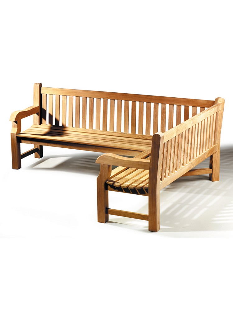 Image Of Teak Garden Bench TB057