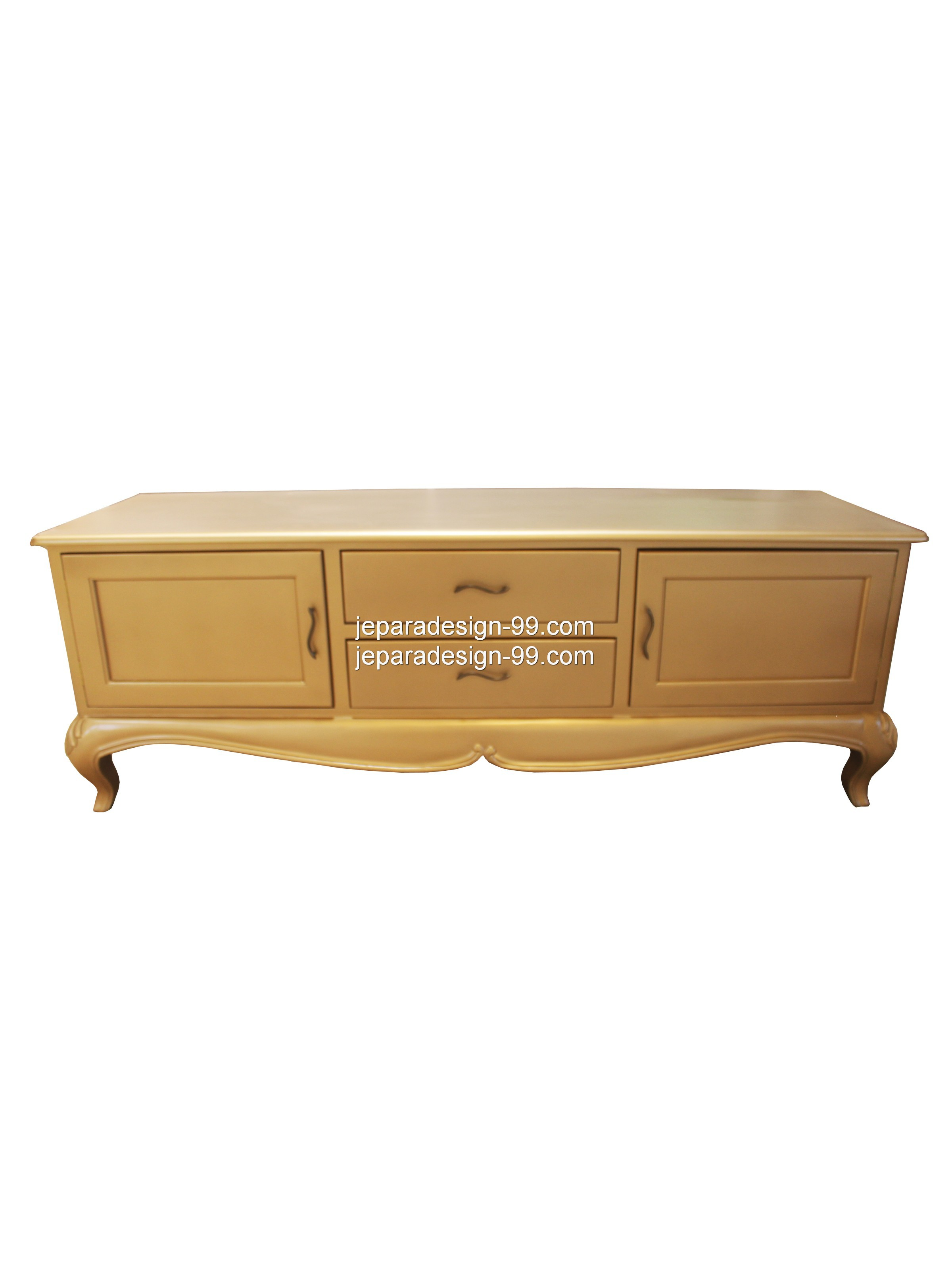 French Provincial TV Cabinet